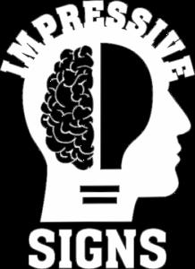 IMPRESSIVE SIGNS Logo